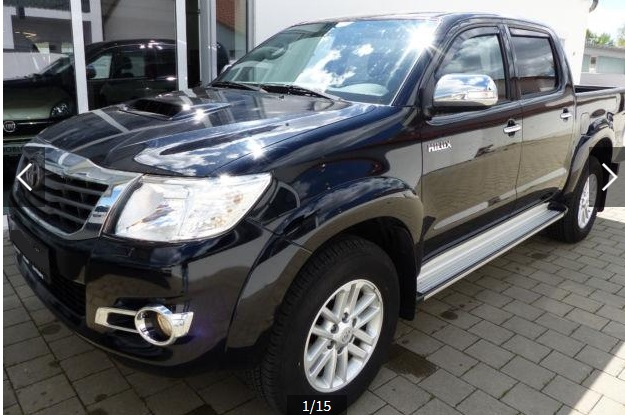 TOYOTA HILUX 4x4 Double Cab DPF Comfort