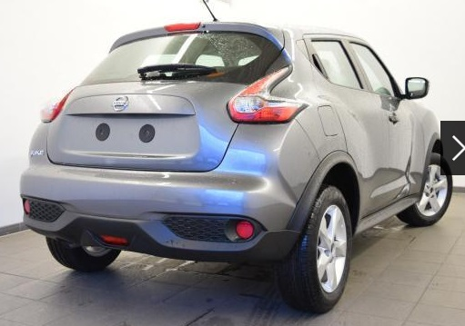NISSAN JUKE (04/2015) - GREY METALLIC - lieu: