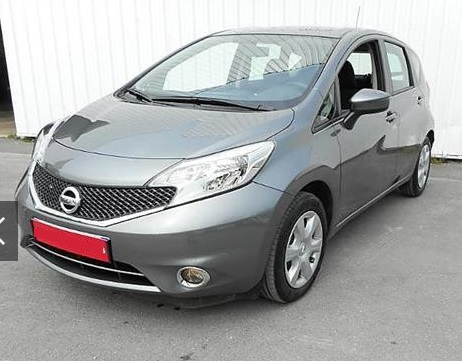 lhd NISSAN NOTE (05/2015) - GREY - lieu: