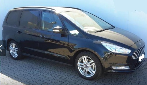 lhd FORD GALAXY (09/2015) - BLACK METALLIC - lieu: