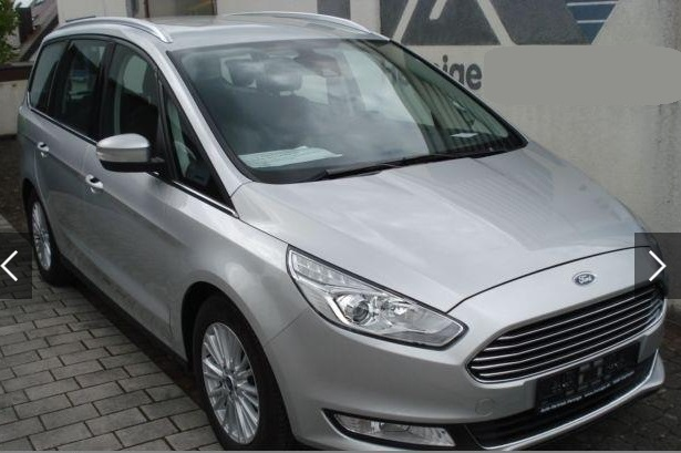 lhd FORD GALAXY (10/2015) - SILVER METALLIC - lieu: