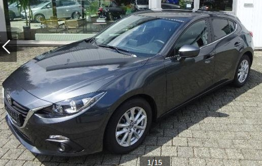 MAZDA 3 SKYACTIV-D 150PS 6AG Center-Line