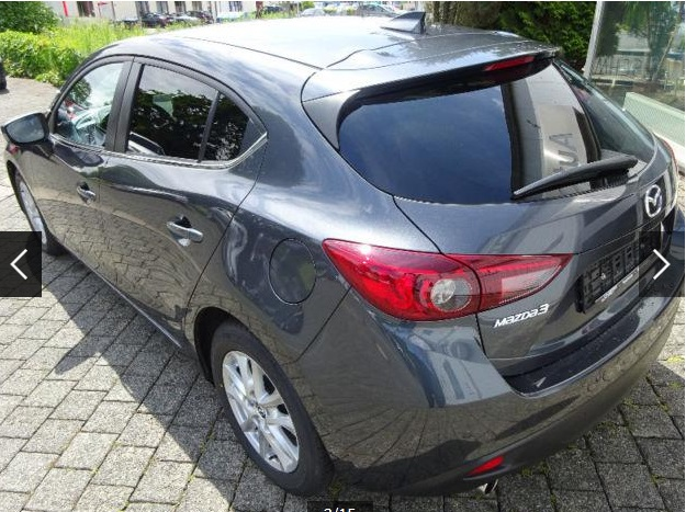 MAZDA 3 (08/2015) - GREY METALLIC - lieu: