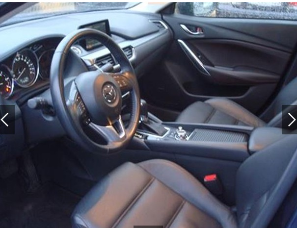 MAZDA 6 (06/2015) - BLUE METALLIC - lieu: