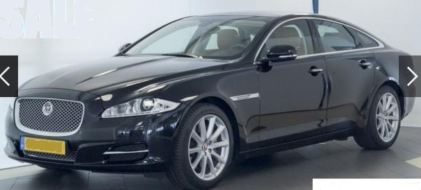 JAGUAR XJ (04/2015) - BLACK METALLIC - lieu: