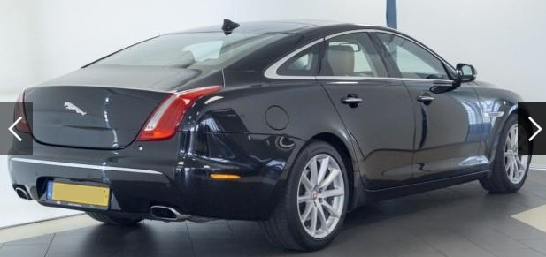 Lhd JAGUAR XJ (04/2015) - BLACK METALLIC - lieu: