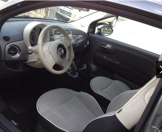 FIAT 500 (01/2015) - GREY METALLIC - lieu: