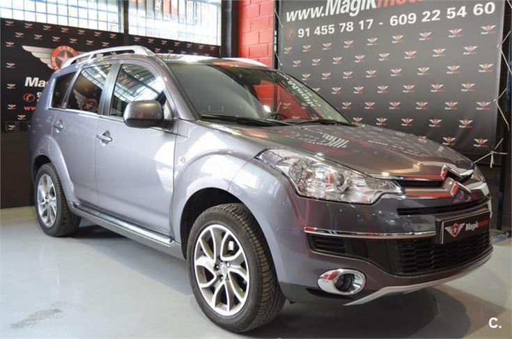 CITROEN C-CROSSER 2.2 HDI EXECUTIVE SPANISH REG 7 SEATS