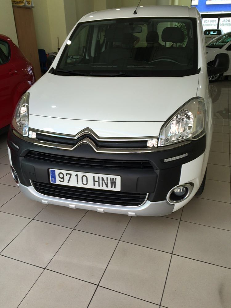 CITROEN BERLINGO HDI MULTISPACE SPANISH REG