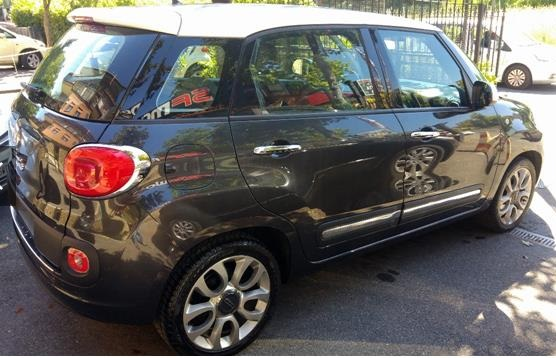FIAT 500L (01/2015) - GREY METALLIC - lieu: