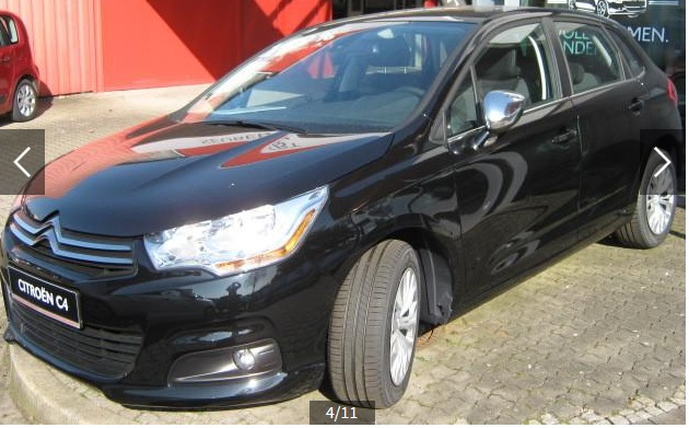 Left hand drive CITROEN C4 e-HDI 115 ETG6 SELECTION