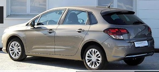 CITROEN C4 (05/2015) - GREY - lieu:
