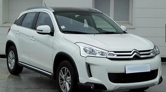 CITROEN C4 AIRCROSS (05/2015) - WHITE - lieu: