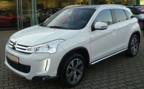 lhd CITROEN C4 AIRCROSS (06/2015) - WHITE METALLIC - lieu:
