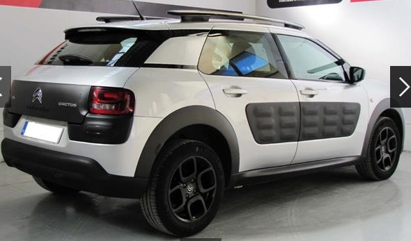 CITROEN C4 CACTUS (07/2015) - GREY METALLIC - lieu:
