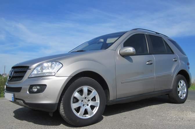 MERCEDES ML CLASS 320 CDI 7G TRONIC FRENCH REG