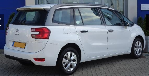 CITROEN C4 GRAND PICASSO (05/2015) - WHITE - lieu: