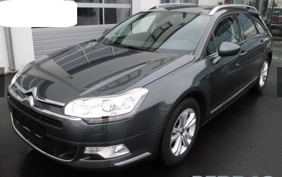 lhd CITROEN C5 (04/2015) - GREY METALLIC - lieu: