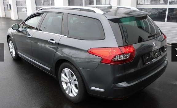 CITROEN C5 (04/2015) - GREY METALLIC - lieu: