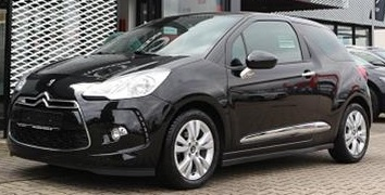 lhd CITROEN DS3 (06/2015) - BLACK METALLIC - lieu: