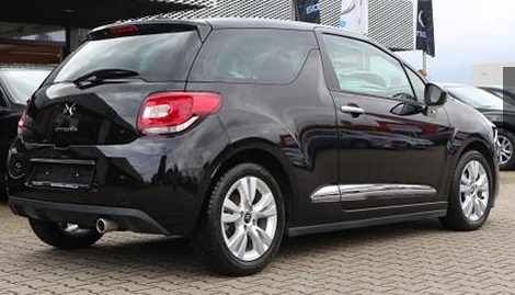 CITROEN DS3 (06/2015) - BLACK METALLIC - lieu: