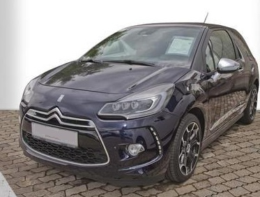 lhd CITROEN DS3 (04/2015) - BLUE METALLIC - lieu: