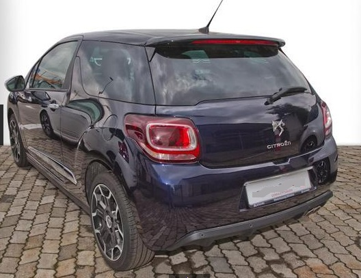 CITROEN DS3 (04/2015) - BLUE METALLIC - lieu: