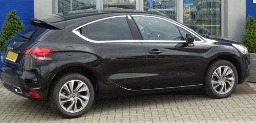Lhd CITROEN DS4 (06/2015) - BLACK METALLIC - lieu: