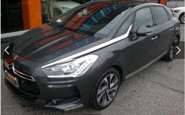 lhd CITROEN DS5 (07/2015) - GREY METALLIC - lieu: