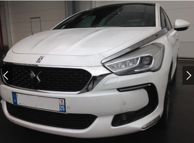 CITROEN DS5 (06/2015) - WHITE METALLIC - lieu: