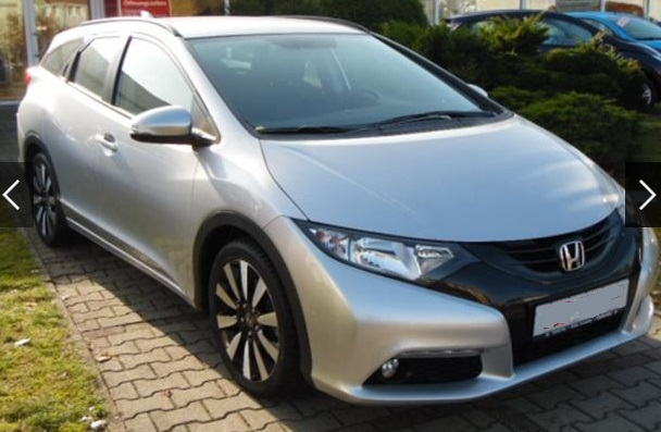 HONDA CIVIC (02/2015) - SILVER METALLIC - lieu: