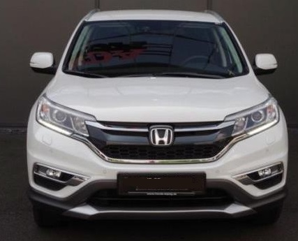 lhd HONDA CR V (08/2015) - WHITE METALLIC - lieu: