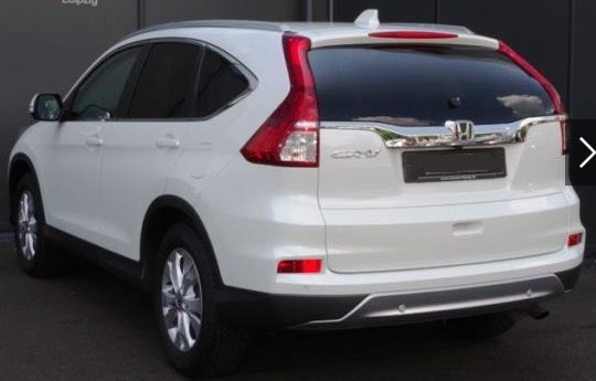 HONDA CR V (08/2015) - WHITE METALLIC - lieu: