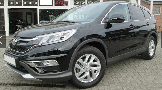lhd HONDA CR V (09/2015) - BLACK METALLIC - lieu:
