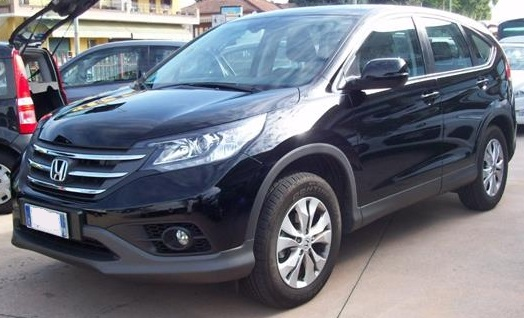 lhd HONDA CR V (03/2015) - BLACK METALLIC5 - lieu: