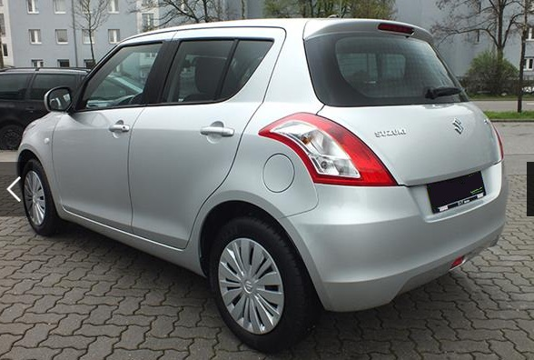 Lhd SUZUKI SWIFT (11/2015) - SILVER METALLIC - lieu: