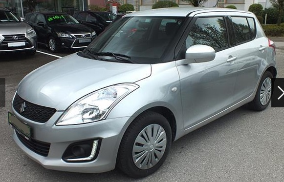 SUZUKI SWIFT (09/2015) - SILVER - lieu: