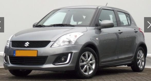 lhd SUZUKI SWIFT (01/2015) - GREY METALLIC - lieu: