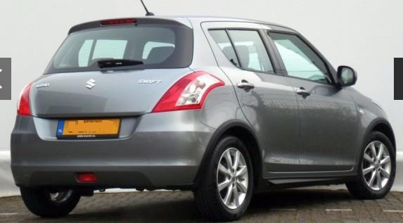 SUZUKI SWIFT (01/2015) - GREY METALLIC - lieu:
