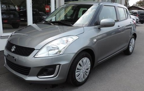 lhd SUZUKI SWIFT (06/2015) - GREY METALLIC - lieu:
