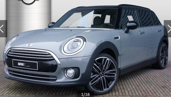 lhd MINI CLUBMAN (11/2015) - GREY METALLIC - lieu: