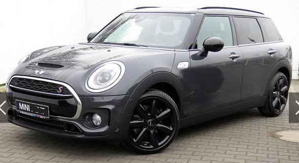 lhd MINI CLUBMAN (07/2015) - GREY METALLIC - lieu:
