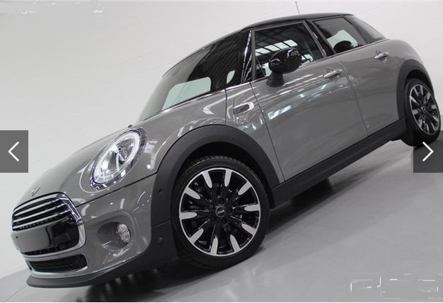 lhd MINI COOPER (03/2015) - GREY METALLIC - lieu: