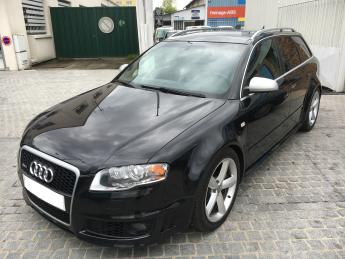 AUDI RS4 4.2 ESTATE UK REG