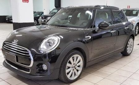 lhd MINI COOPER (06/2015) - BLACK METALLIC - lieu:
