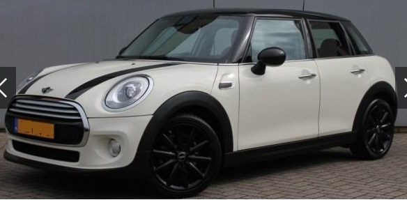lhd MINI COOPER (03/2015) - WHITE METALLIC - lieu: