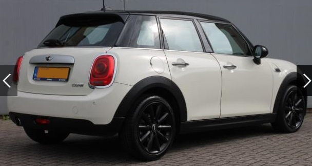 MINI COOPER (03/2015) - WHITE METALLIC - lieu: