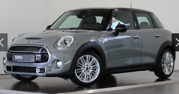lhd MINI COOPER S (07/2015) - GREY METALLIC - lieu: