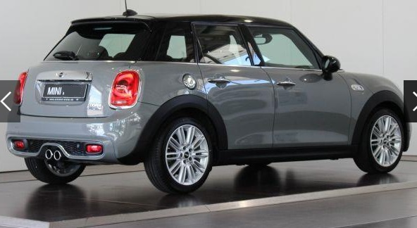 MINI COOPER S (07/2015) - GREY METALLIC - lieu: