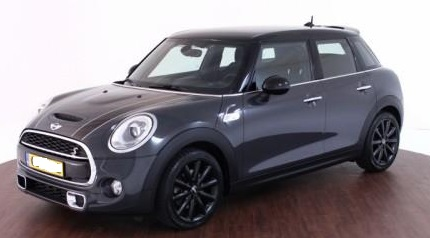 lhd MINI COOPER S (04/2015) - GREY METALLIC - lieu:
